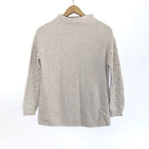 Anthropologie - Moth - Mock High Neck Sweater M